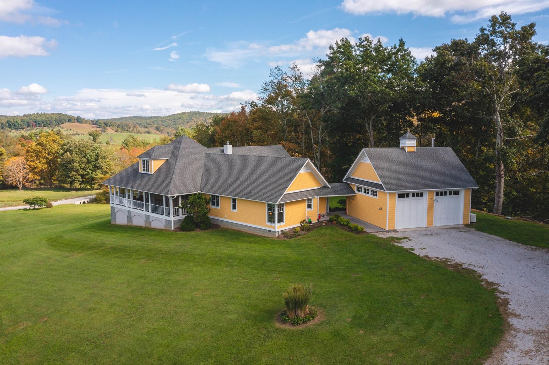 Stunning Custom Built Home for Sale in Copper Hill VA!
