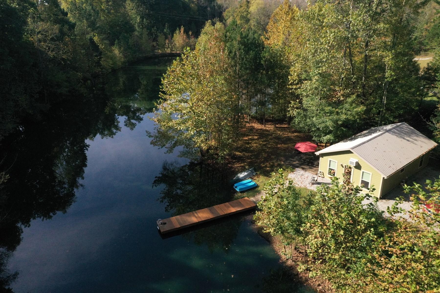 Private lakefront retreat for sale near Nashville Tn.