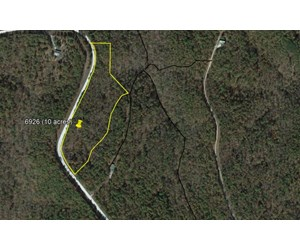 PAVED ACCESS WOODED 10 ACRES