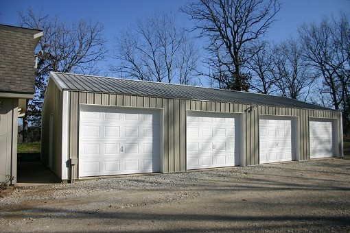 4 Car Garage And Shop