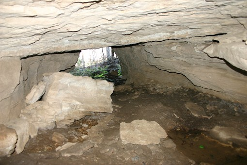 From Inside Cave Looking Out