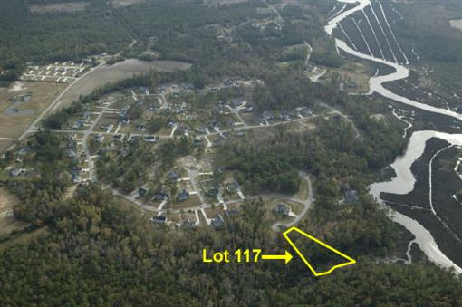 Aerial View Showing Lot