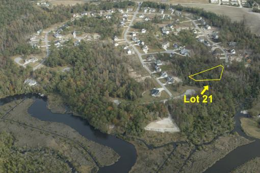 Aerial View Lot Location