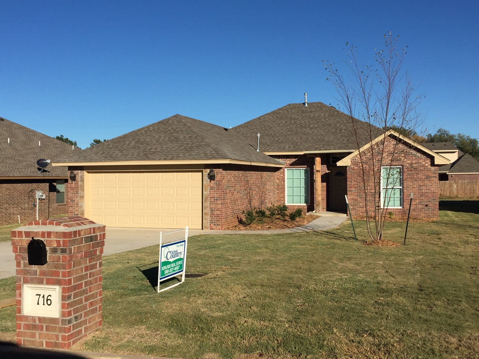 New Construction Home for Sale Alva, OK