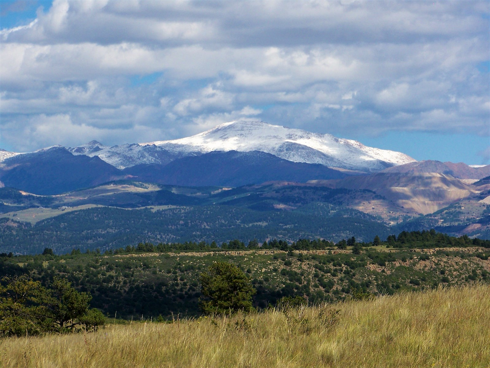 Colorado Mountain Ranch With Views Of Pikes Peak