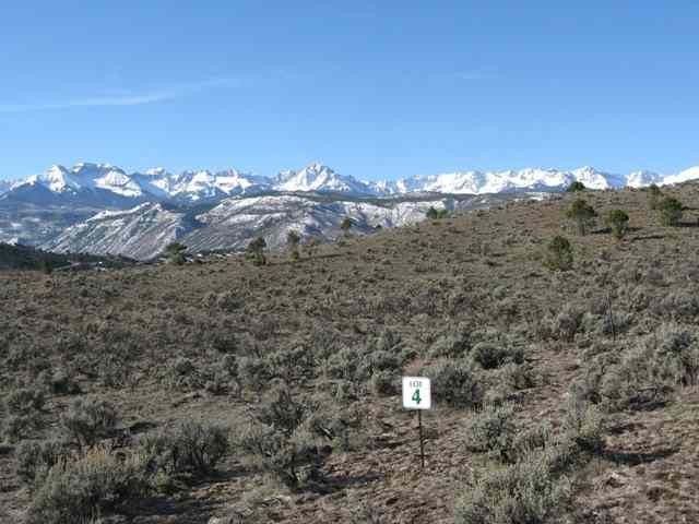 CO Mountain View Lot For Sale Ridgway RiverSage Subdivision