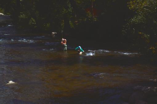 Taylor Canyon River CO Fishing Resort