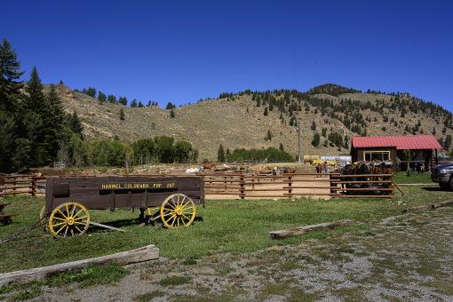 Gunnison, Almont CO Ranch Resort For Sale