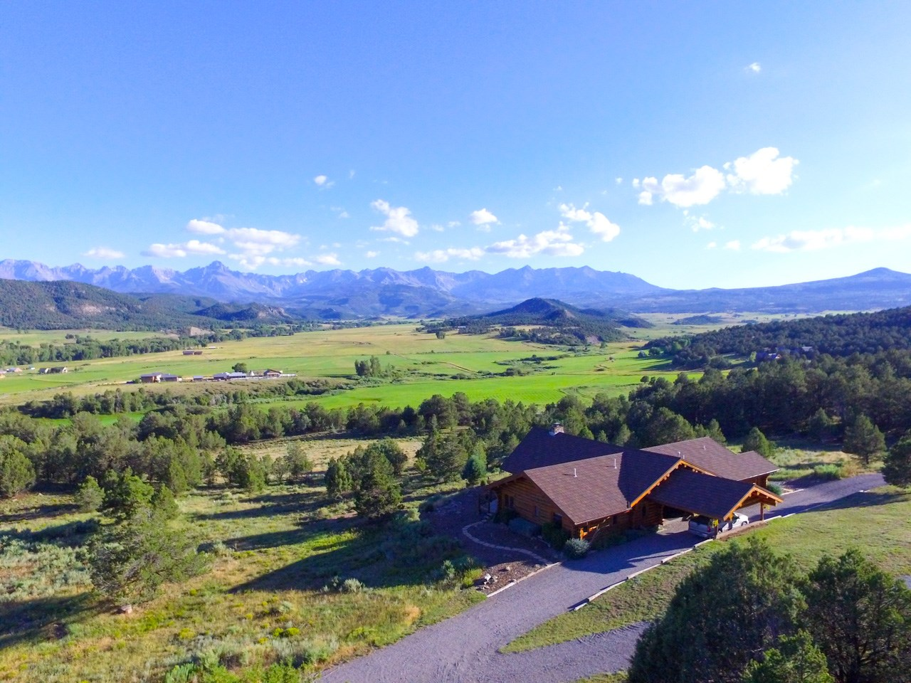 Pleasant Valley Log Home On Over 38 Acres