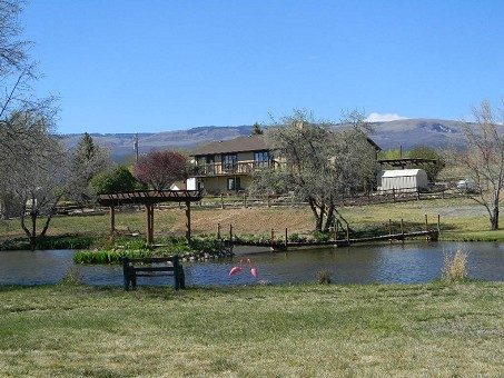 Colorado Mountain View Home For Sale Pond Shop