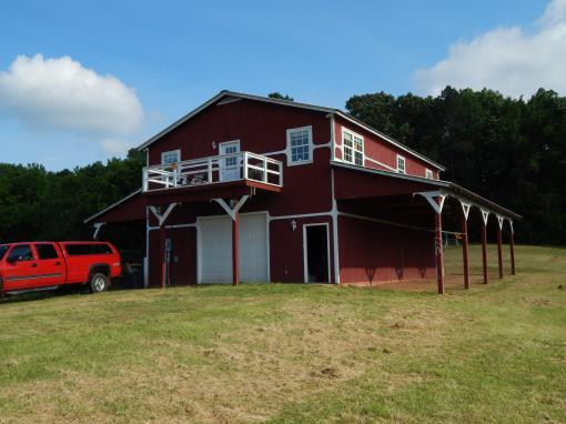 TN Land BARNDOMINIUM HOME Horse Hobby 18 ACRE Farm For Sale