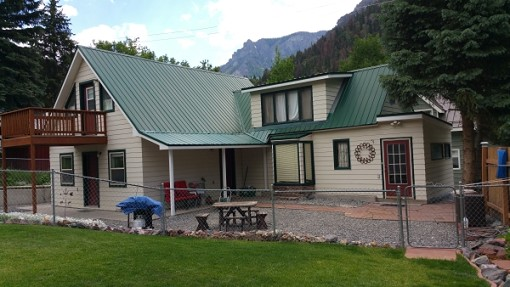 Beautifully Landscaped Ouray Colorado Home