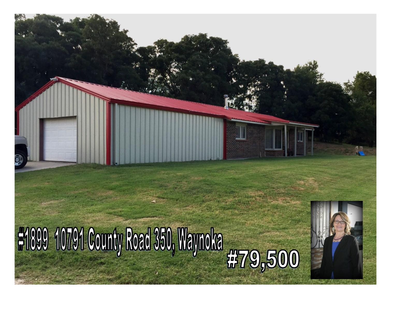 Home In Country With Acreage Waynoka, OK