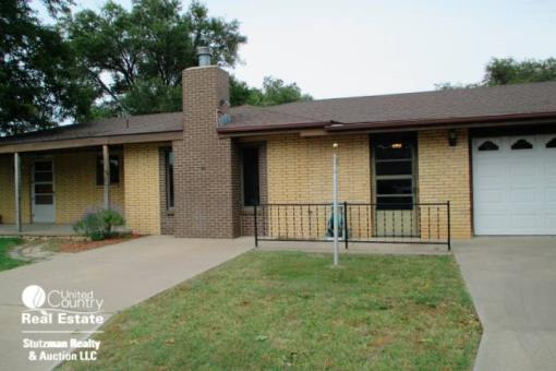Brick Home For Sale In Ulysses, Kansas