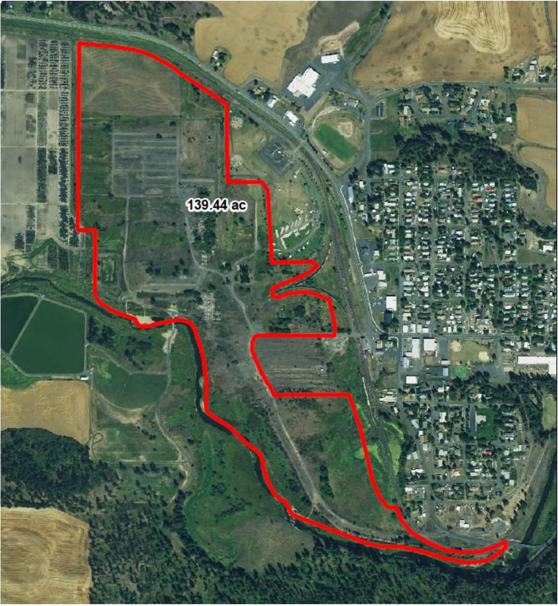 Potlatch Idaho Map.Commercial Development Acreage In Potlatch Idaho
