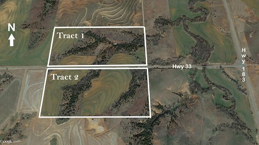 Land For Sale, Custer Co, Oklahoma, Tract 1