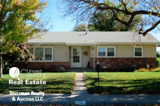 Move-in Ready Home For Sale In Ulysses, Kansas