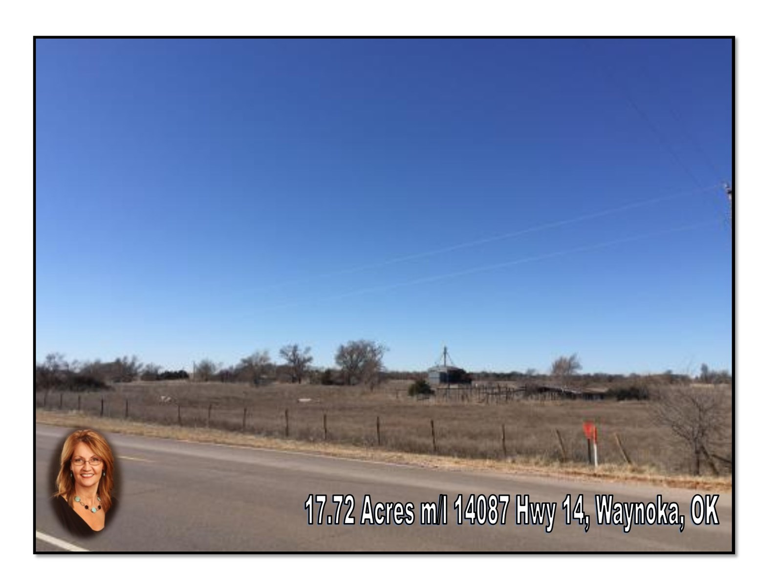 Land for Sale Waynoka, OK 17.72 Acres m/l