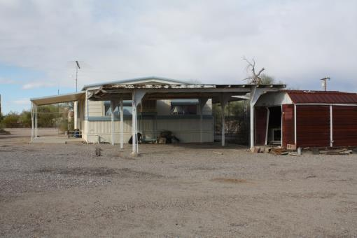 Quartzsite, Az Desert Home 1 Acre Corner Fenced