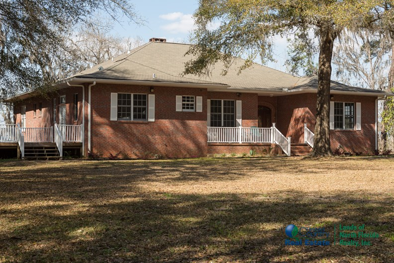 SOLDLarge Home in N Florida with Basement on Suwannee River.