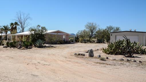 Bouse, Az 13.02 Acre Home