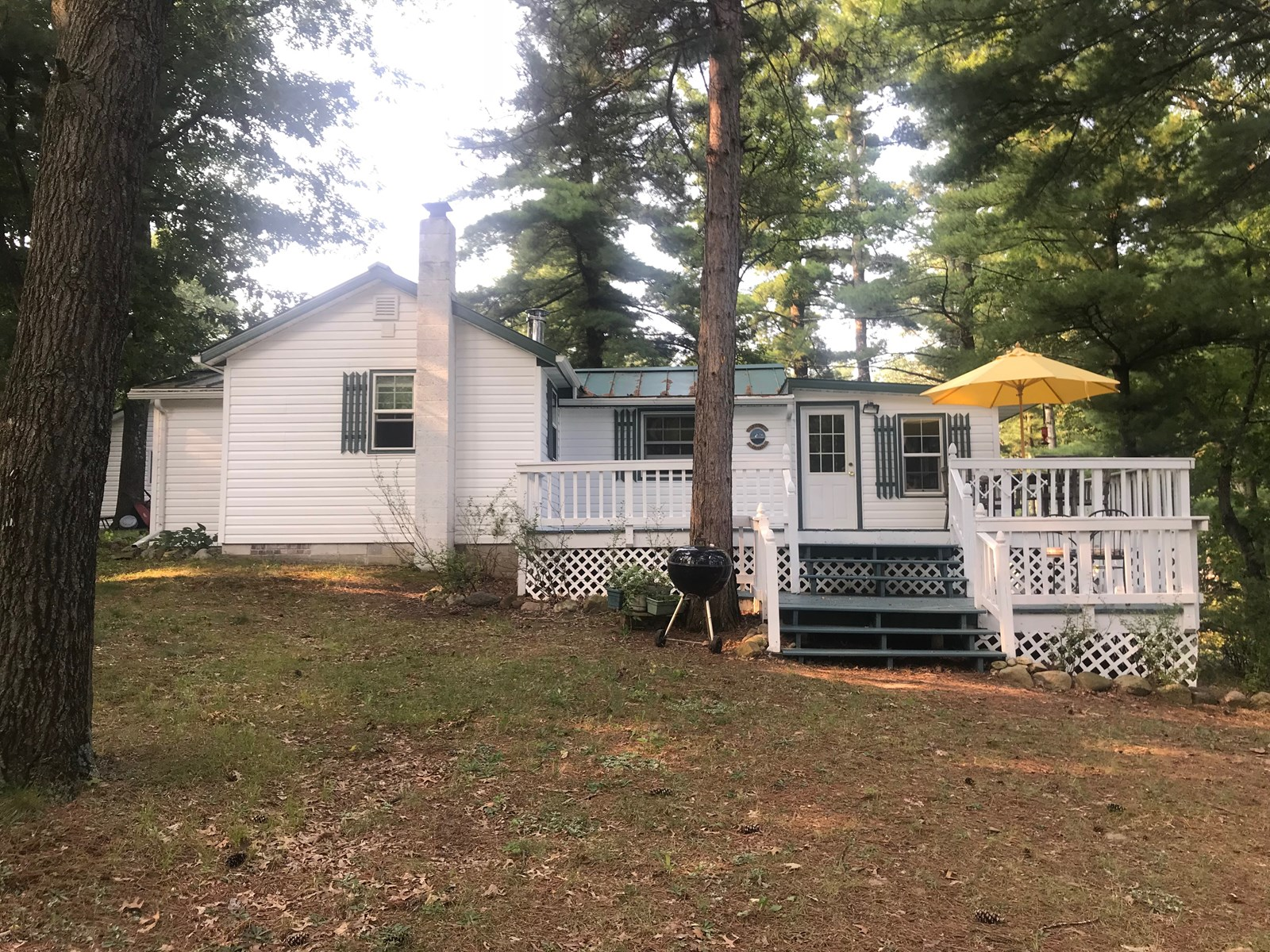 Lakefront Home for sale Waupaca County, Bass Lake WI