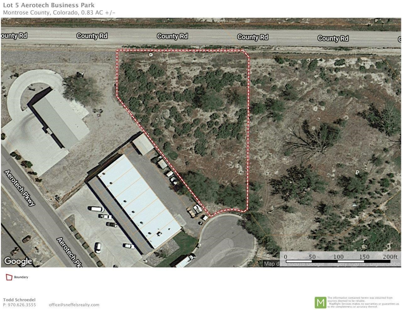 Commercial Industrial Land For Sale Montrose SW Colorado