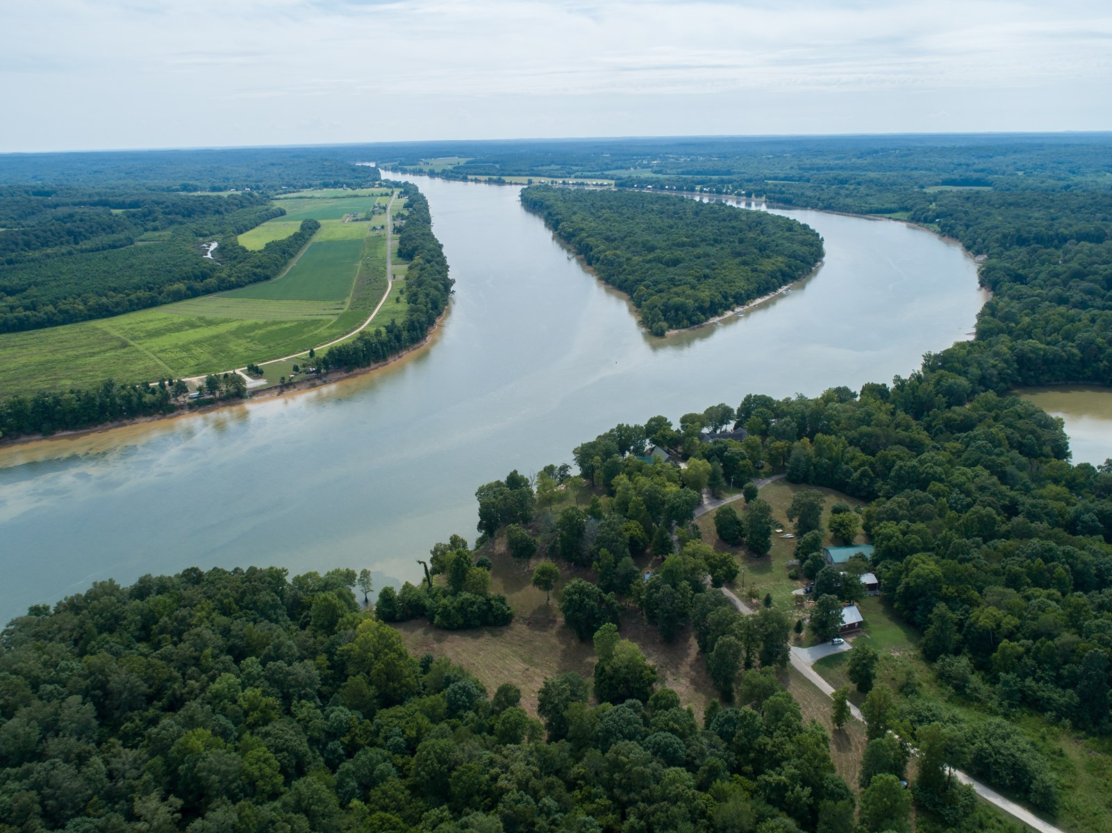 TN RIVERFRONT ACREAGE FOR SALE, BOAT RAMP, VIEWS