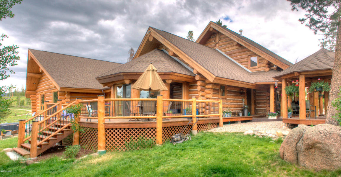Rocky Mountain Log Home Colorado Cabin For Sale Grand Lake