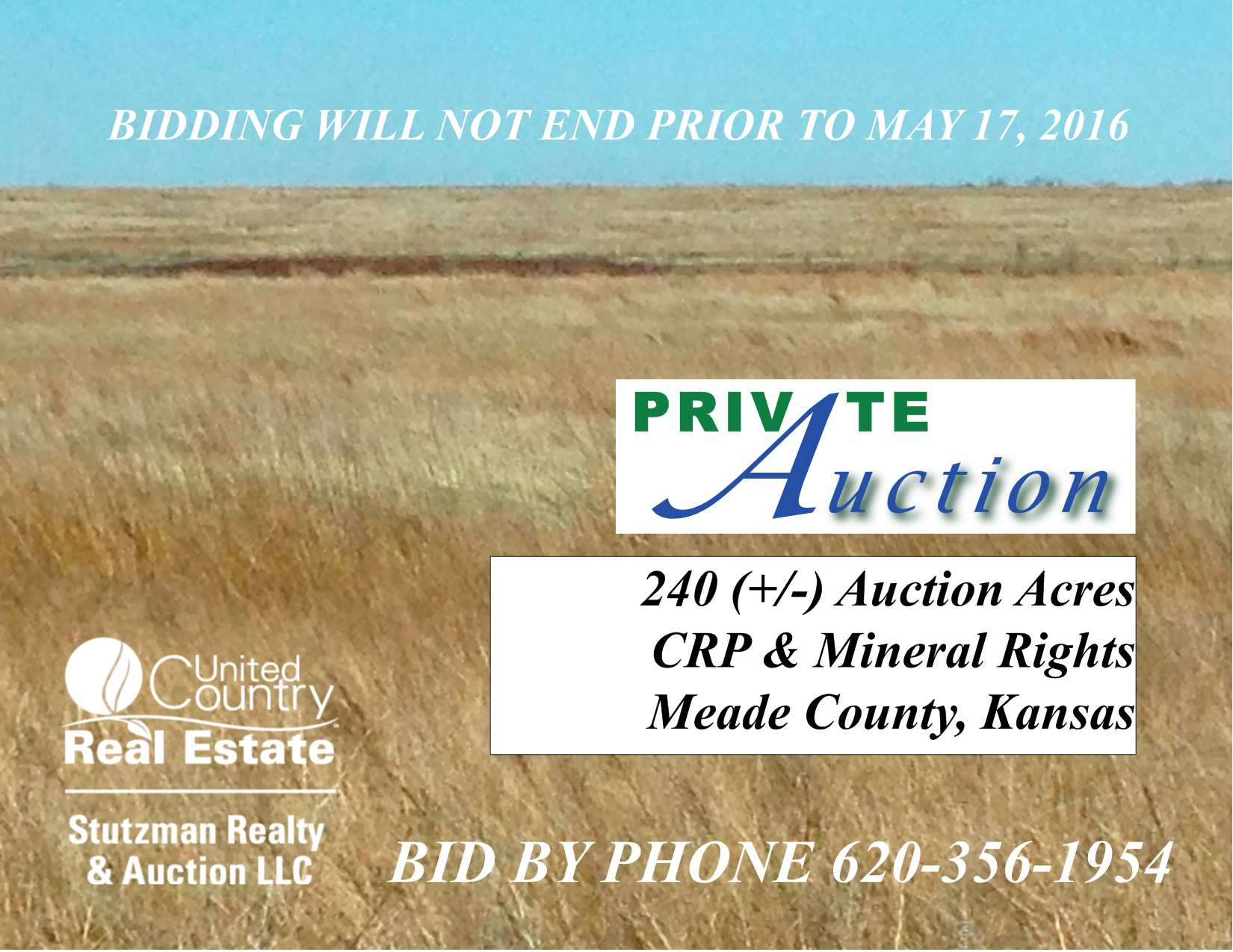 240 ACRES CRP & MINERAL RIGHTS, MEADE COUNTY, KS