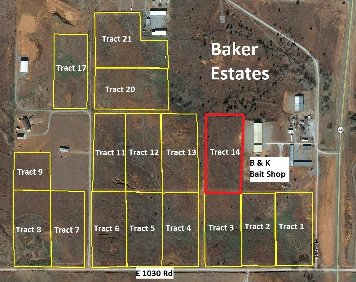 Foss Lake Home Building Lot For Sale Oklahoma with Lake View