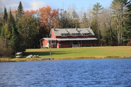 Hunting Lodge For Sale in South Branch, MI  2 Private Lakes