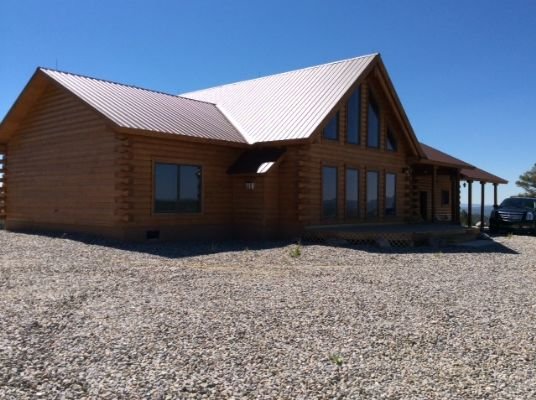 Chama NM Mountain Log Home Property for sale with  Acreage