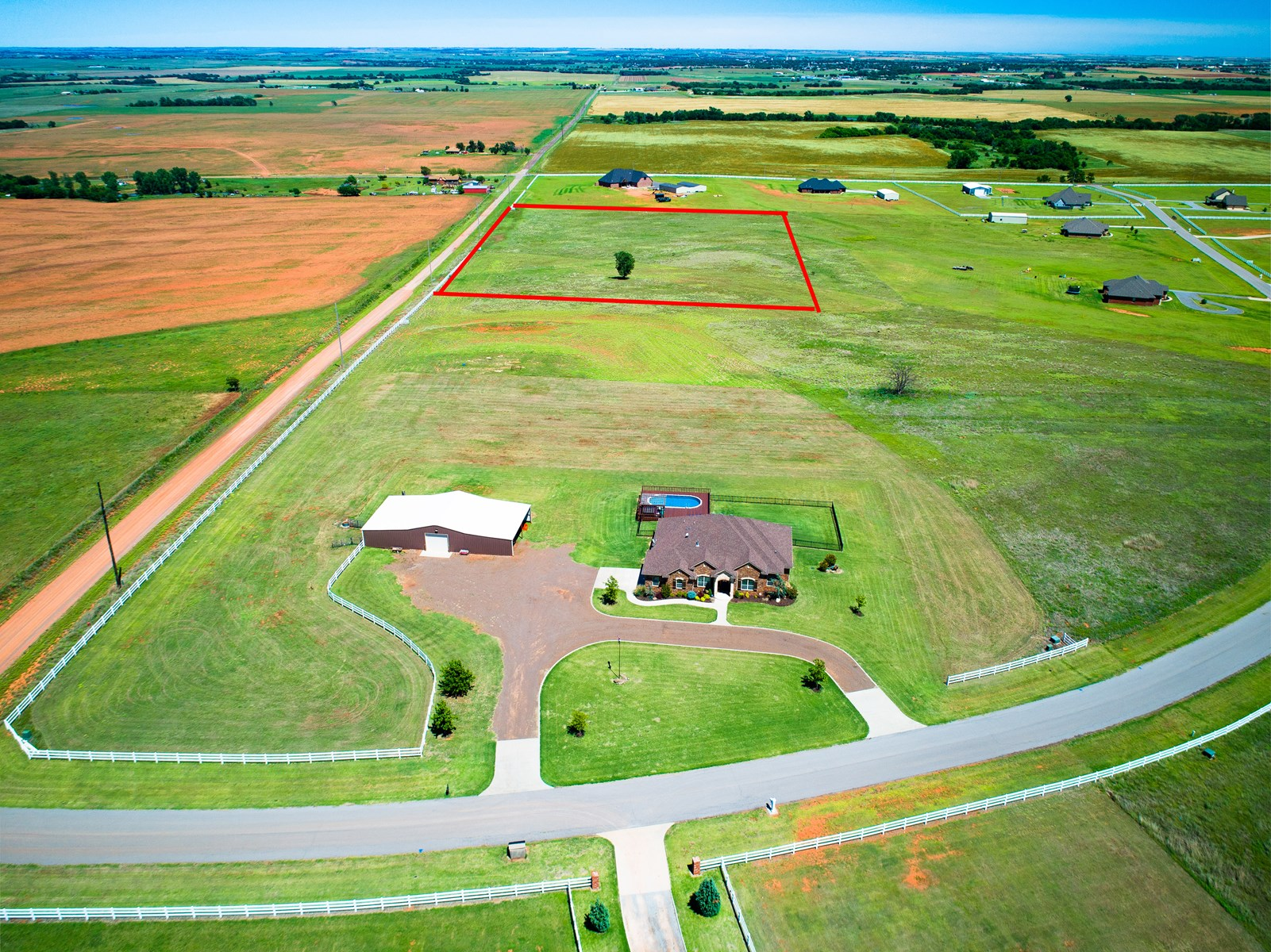Clinton, Oklahoma Country Building Lot for Sale
