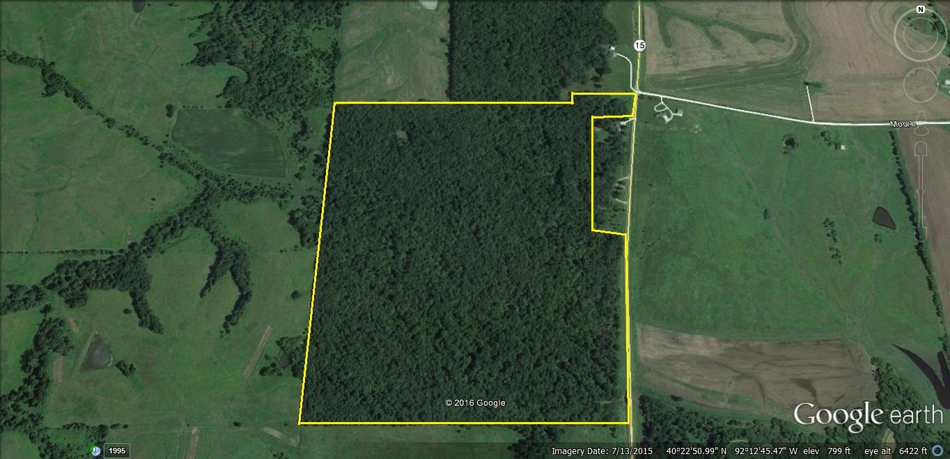 TIMBERLAND FOR SALE NORTHEAST MO, RECREATIONAL LAND MO