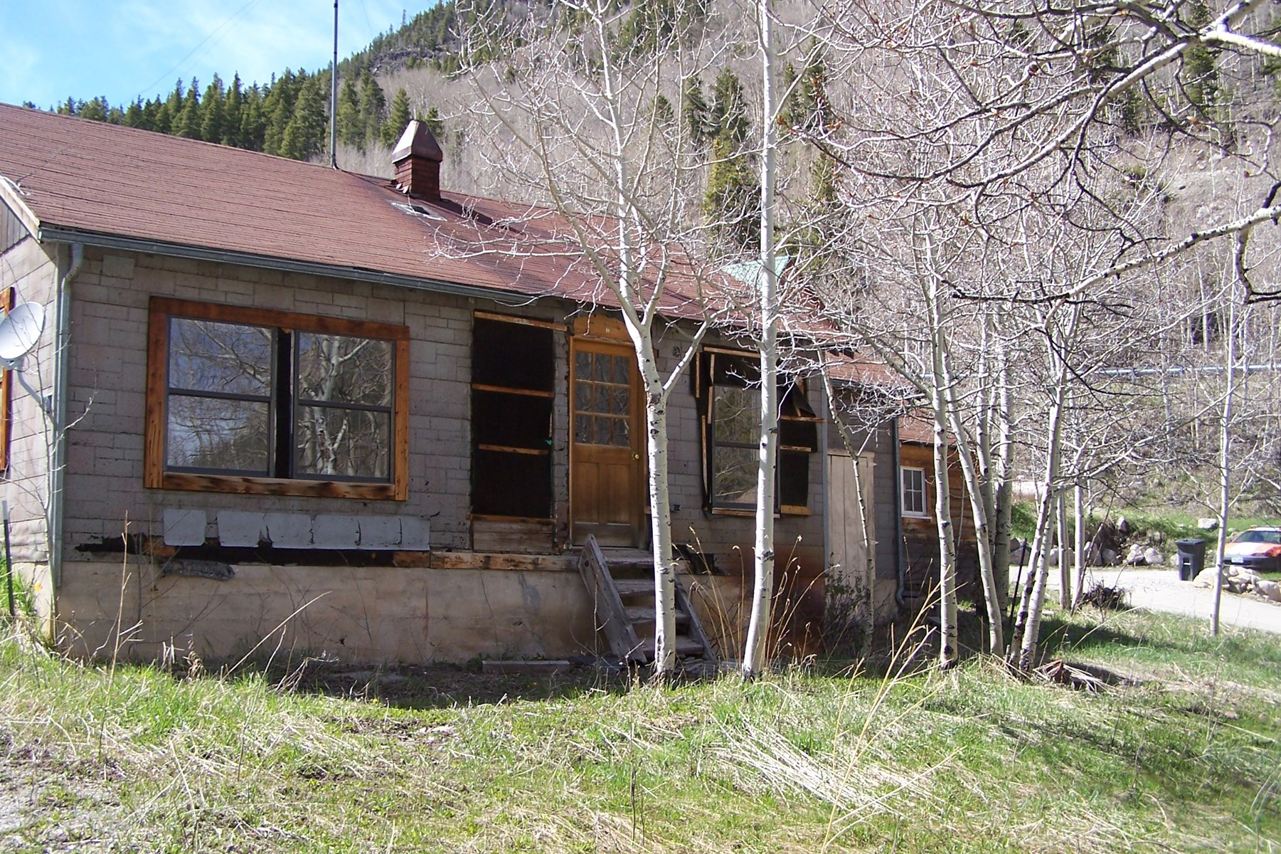 Fixer Upper Cabin, Monarch Mtn Ski Area, Salida CO For Sale