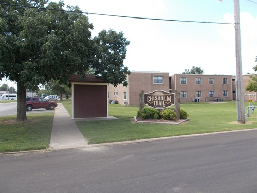 The American Dream Apartment Complex in Miami, Oklahoma