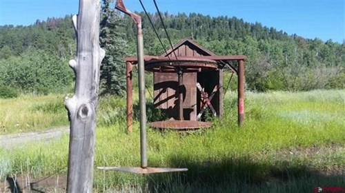 CO Mountain Cabin For Sale on Site of Historic Ski Area