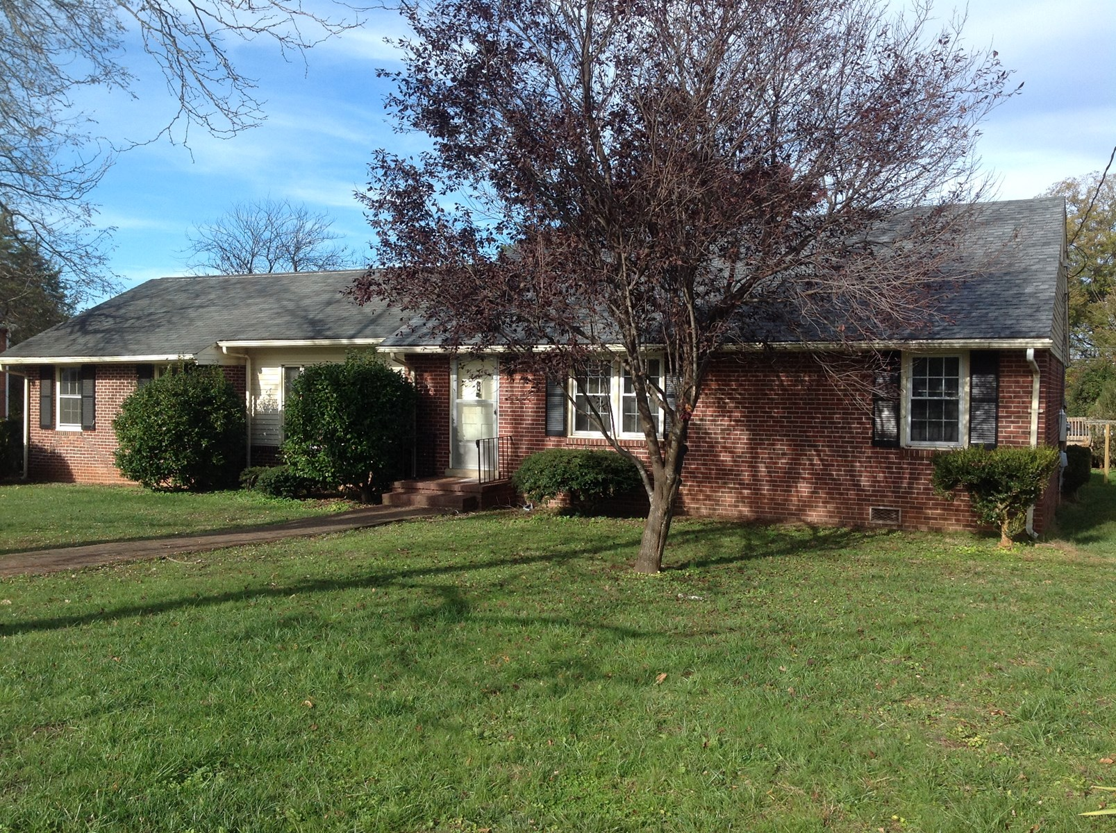Brick Ranch Home in Keysville, VA