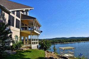 TN RIVER KY/ LAKE WATERFRONT HOME FOR SALE, FURNISHED, VIEWS