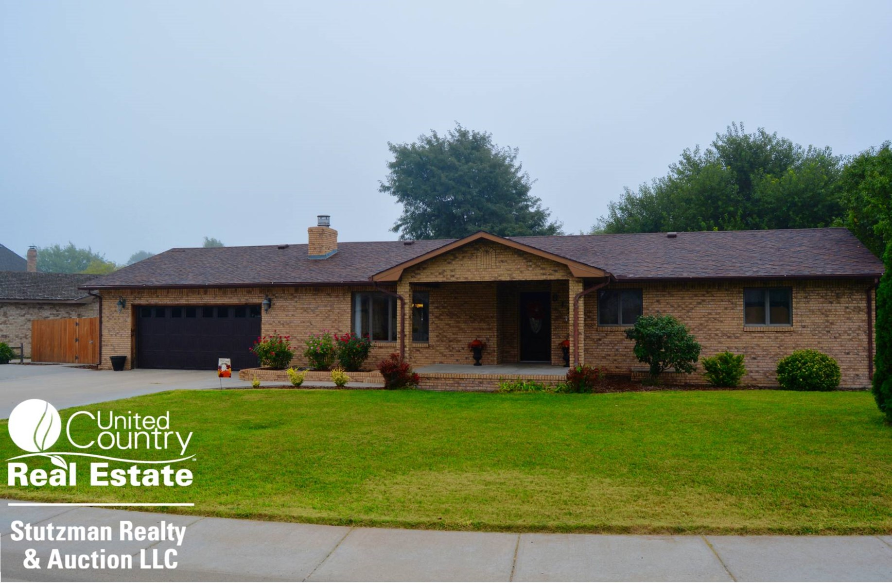 MOVE-IN READY BRICK HOME FOR SALE IN ULYSSES, KANSAS