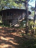 MOUNTAIN RUSTIC ROUND 2 STORY CABIN FOR SALE CLAYTON ,SE/OK
