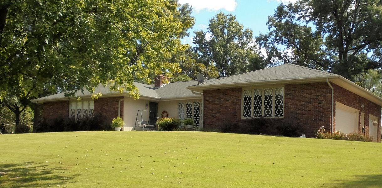 Beautiful Brick Home For Sale on Large Corner Lot Near Town!