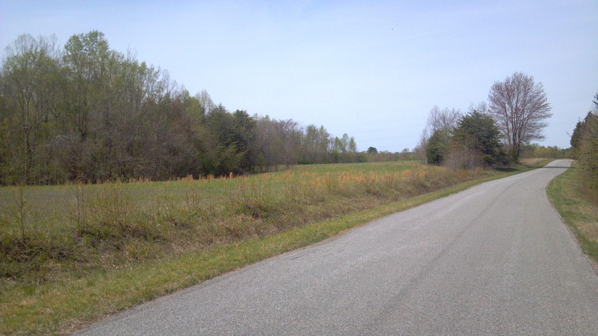 Long road frontage in Danville Va