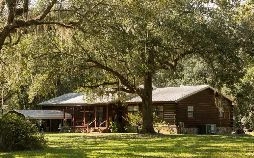SOLD Log Home For Sale in Live Oak, FL
