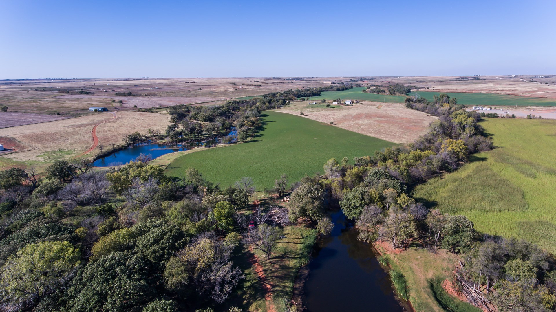 Hunting, Farmland for Sale 160 Acres Washita County Oklahoma