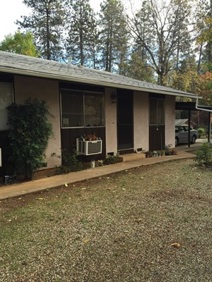 RENTED DUPLEX IN PARADISE BUTTE COUNTY NORTHERN CALIFORNIA