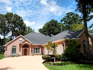 EAST TEXAS GOLF COURSE HOME FOR SALE IN EAGLE'S BLUFF