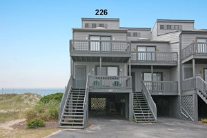 OCEANFRONT TOWNHOME FOR SALE ON NORTH TOPSAIL BEACH, NC