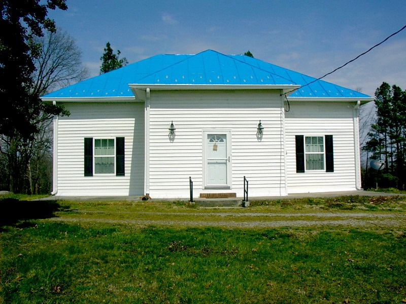 Reclaimed Schoolhouse, Now Like a New Home